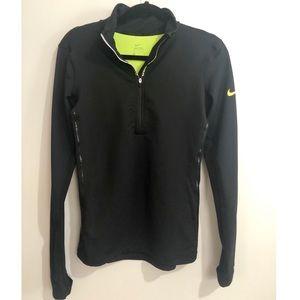 Nike Pro Hyperwarm Quarter Zip Up EUC